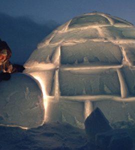 Eskimolar Buzdan Evlerini (İglo) Nasıl Isıtırlar?