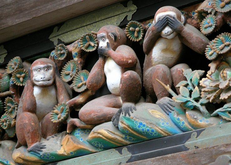 'Görmeyen, Duymayan, Konuşmayan Üç Maymun' Figürünün Kökeni Nedir?