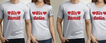 Çift Tişörtleri